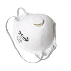 Finixa stofmasker P2 met ventiel 15st.